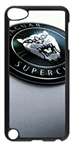 Jaguar Car Logo 004 Ipod Touch 5 PC Black Sides Hard Shell Case by eeMuse
