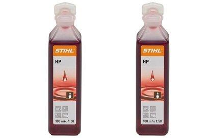 Stihl 2 Stroke Engine Oil 1 Shot 100ml x 2