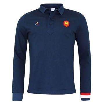Le Coq Sportif Polo Fan Manches Longues 2019 Negro Soporte de ...