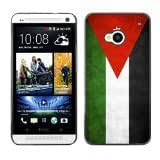 Shell-Star ( National Flag Series-Jordan ) Snap On Hard Protective Case For HTC One (M7)