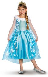 Disney Frozen Deluxe Elsa Toddler Child Costumes (Disney Frozen Deluxe Elsa Toddler/Child Costume - Large (10-12) PROD-ID : 1890611)