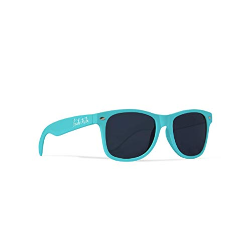 1 Pair Bride Tribe Sunglasses – Gifts, Favors, Accessories for Bachelorette Parties, Weddings, and Bridal Showers (Turquoise, 1 Pair)