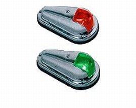 Perko Vertical Mount Side Light - Bulbs Navigation Light Perko