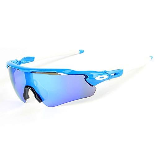 sol para Cradifisho lentes 5 XQ Azul de hombre Gafas y intercambiables polarizadas mujer HaItqI