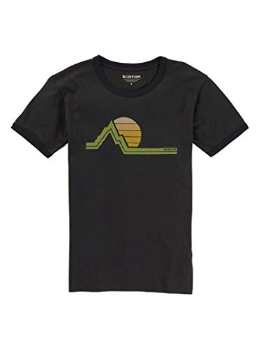 Burton Women's Tim Key Short Sleeve Tee, Phantom, ()