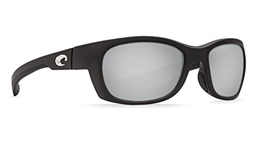 5f30481acd509 Costa Del Mar Trevally Matte Black Gunmetal Silver Mirror 580P Trevally