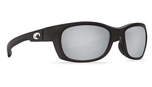 d52ed7c9534 Costa Del Mar Trevally Matte Black Gunmetal Silver Mirror 580P Trevally