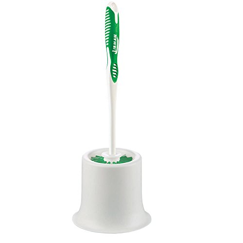 - Libman Commercial 34 Round Bowl Brush and Open Caddy, Polypropylene, 15