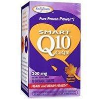 Enzymatic Therapy - SMART Q10 CoQ10 Maple 200 mg 30 chew by Enzymatic - Maple 30 Chew