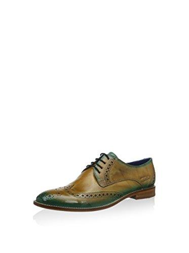 Para Beige Zapatos Cordones turquesa 3 Derby amp; Melvin De Hamilton 38 Eu Amelie Mujer WR1CgTq