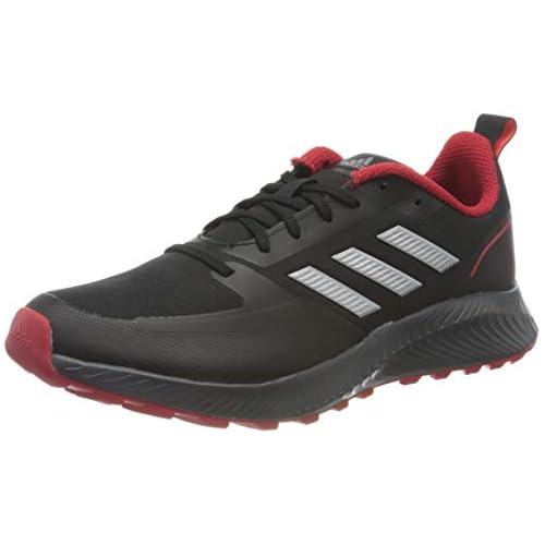 chollos oferta descuentos barato adidas Runfalcon 2 0 TR Sneaker Hombre Core Black Silver Metallic Grey 39 1 3 EU
