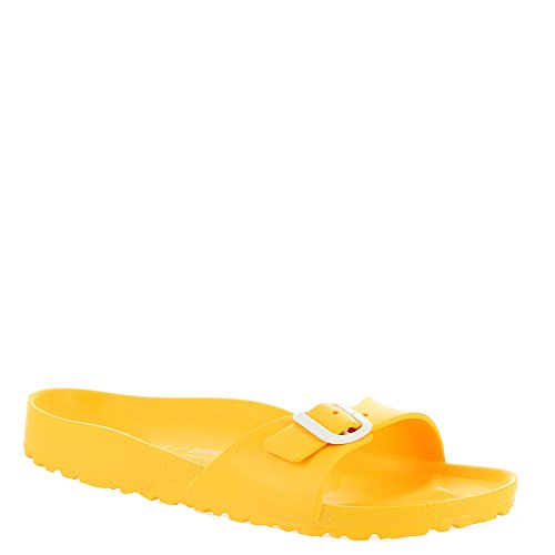 Birkenstock Women's Madrid Sandal (40 N EU / 9-9.5 B(M) US, Scuba Yellow)