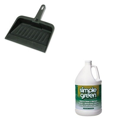 KITRCP2005CHASPG13005CT - Value Kit - Simple Green All-Purpose Industrial Degreaser/Cleaner (SPG13005CT) and Rubbermaid-Chrome Heavy Duty Dust Pan (RCP2005CHA)