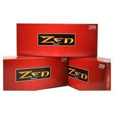 Full Flavor King - Zen Full Flavor King Size Cigarette Tubes (250 Ct/box) ONE CASE =40 Boxes