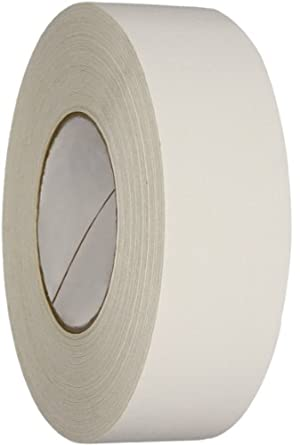 Polyken Vinyl Coated Cloth Premium Gaffer's Tape, 11.5 mil Thick, 50m Length, 48mm Width, White