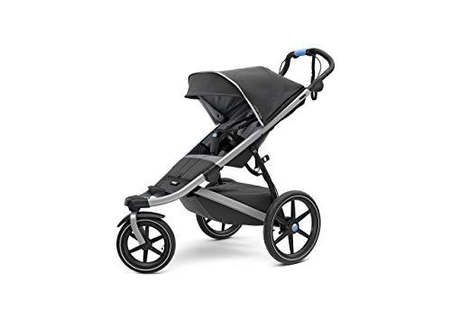 Thule Urban Glide 2.0 Jogging Stroller (Dark Shadow/ Silver Frame) (Renewed)