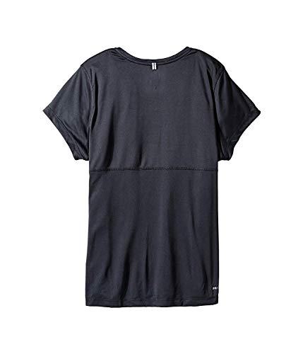 Maniche reflective black Donna Dry Miler Black A W Corte Nk Crew Maglietta black Silver Nike nOqx07HaT7