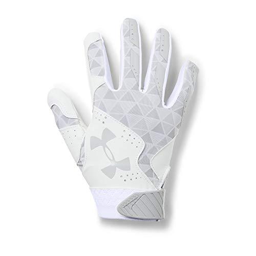 Under Armour Womens Radar - Under Armour Radar Softball Glove, White (103)/Metallic Silver, Small