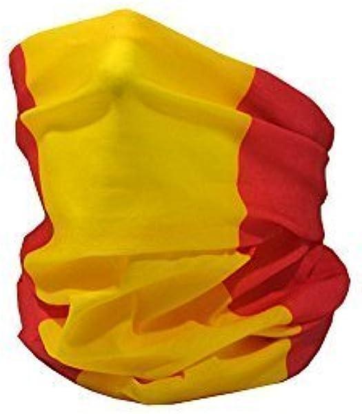 Ruffnek Bandera de España (Civil)  / Bandera de España / la Rojigualda Multifuncional Calentador de Cuello - Talla Única: Amazon.es: Deportes y aire libre