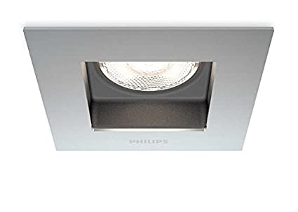 Fantastique Philips Spot encastrable LED Chrome Porrima Luminaire d'intérieur RA-44