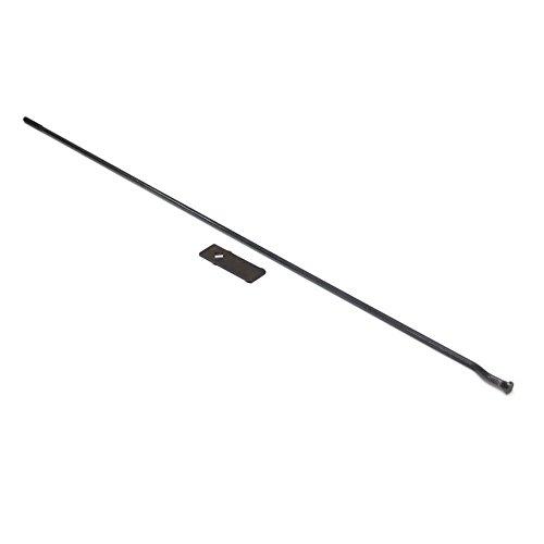 Craftsman 62583 Table Saw Rip Fence Lock Rod Genuine Original Equipment Manufacturer (OEM) part for Craftsman, Black