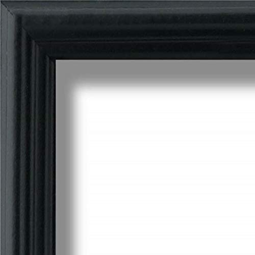 24 X 30 Black Wood - US Art Frames 24x30 Traditional Style Black Thin .75 Inch Wide, Sold Popler Wood, Wall Decor Picture Poster Photo Frame