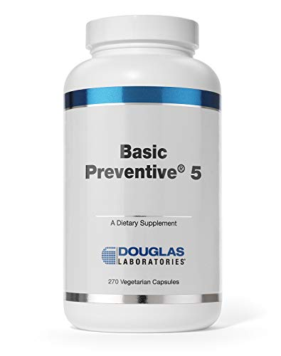 Douglas Laboratories – Basic Preventive 5 – Iron-Free Supplement with Antioxidants – 270 Capsules