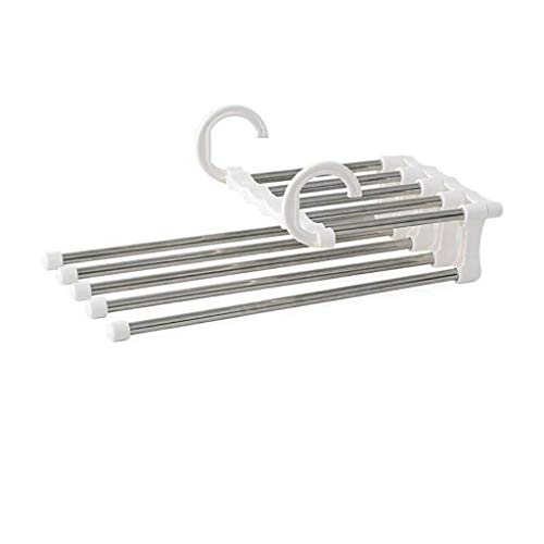 IslandseCloset Organizer Space Saver Clothing Rack Magic Hanger Clothes Hook White