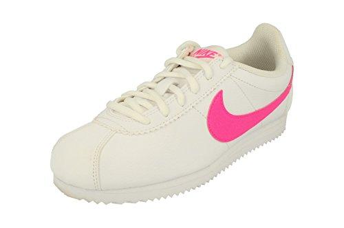 Nike Cortez Gs Hardloopschoenen 749502 Sneakers Schoenen Wit Roze Straal 106