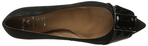 NY Ballet Flat French Sassy Women's Sole FS Black fqqTxRS