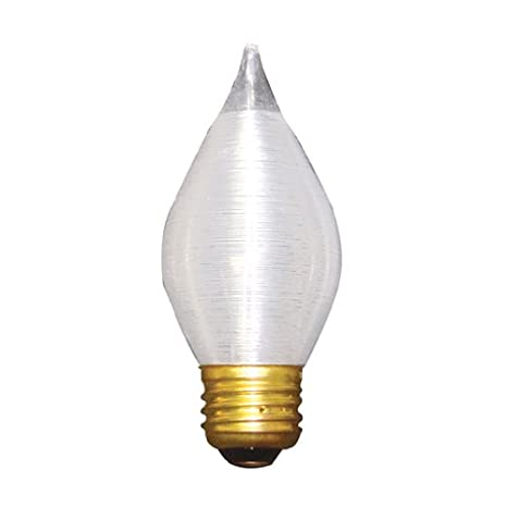 Bulbrite 60C15S Spunlite Chandelier 60W Satin, Medium Base ...