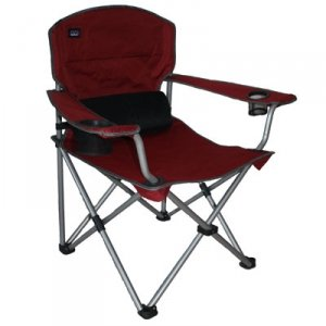 Mac Sports Big Boy Folding Armchair Large Seating Area, Sturdy Steel Frame