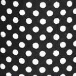 DII Non Adhesive Cut to Fit Machine Washable Shelf Liner Paper For Cabinets, Kitchen Shelves, Drawers, Set of 2, 12 x 10 - Black Dots