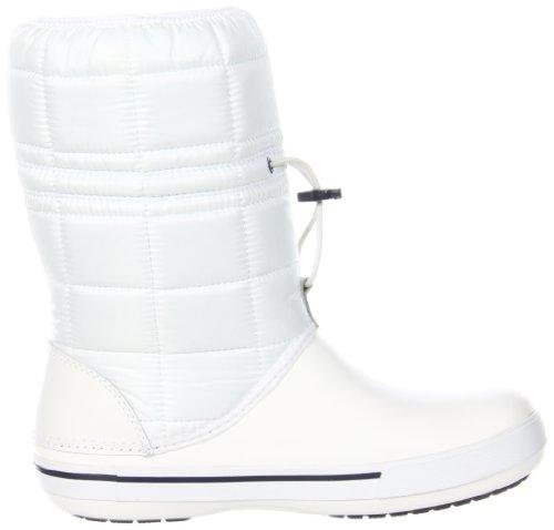 Crocs Dames Crocband Ii.5 Winterschoen Wit / Marine
