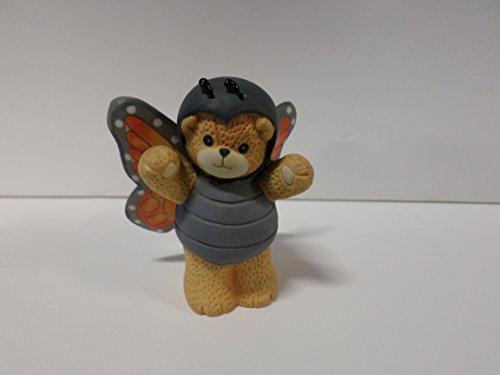 Lucy & Me Series (Enesco) **Teddy Bear Dresed as Butterfly Figurine** 236160