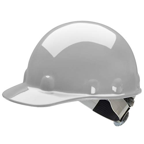 (Fibre-Metal by Honeywell E2SW09A000 Super Eight Swing Strap Cap Style Hard Hat, Grey)