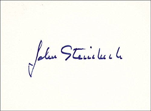 John Steinbeck - Signature