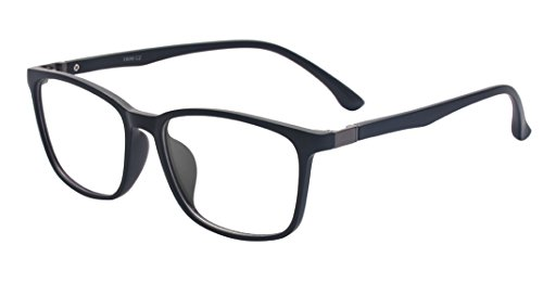 Outray Rectangle Designer Glasses TR90 Frame With Clear Lens Glasses 2177c1 Black