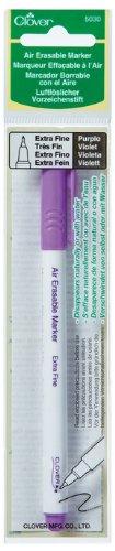 - Clover 5030 Extra Fine Air Erasable Marker, Purple