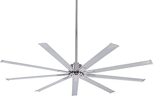 Minka-Aire F887-72-BN, Xtreme 72 Smart Celing Fan, Brushed Nickel