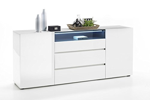 High Gloss Sideboard With Led Lights in Florida - 4