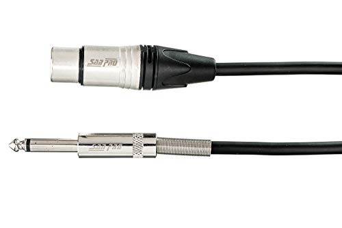 SANPRO C CORD XLR/F P38 ST   3MTR