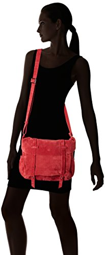 Mila Louise - Bernie Croute Groseille, Bolsos bandolera Mujer, Rouge (Rose Groseille), 18x23x29 cm (W x H L)