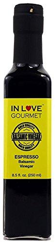 Ground Vinegar (Expresso Balsamic Vinegar 8.5 fl. oz. (250 ml) by In Love Gourmet)