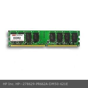 DMS Compatible/Replacement for HP Inc. PR662A Business Desktop dc5100 512MB eRAM Memory DDR2-400 (PC2-3200) 64x64 CL3 1.8v 240 Pin DIMM - DMS