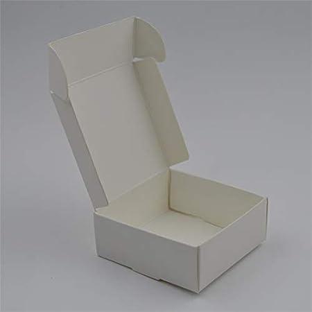 Amazon.com: XLPD 20PCS/Lot Natural Kraft Paper Box Easter Gift Box Wedding Favors Candy Box Cajas De Carton Packages Box for Soap Jewelry Caixa Black ...