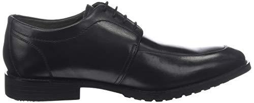 Hombre Zapatos Hush Mud Puppies Oxford Derby Para noir Mt 8 Cordones Noir De zBzSwOq