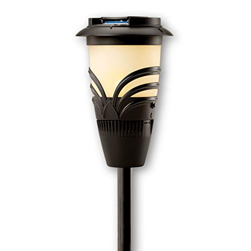Thermacell Lexington Mosquito Repellent Patio Shield Torch, 15-Foot Zone of Protection; No Spray, No Open Flame, Total Height Up To 56 Inches; Refills Available; DEET-Free; Scent Free, No Mess ()