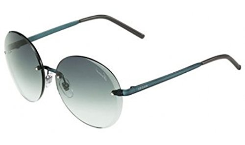 Gucci GG4247/S Sunglasses-0SKK Turquoise (PL Gray Green Lens)-59mm by Gucci