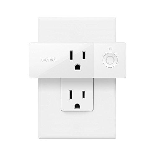 Wemo Mini Smart Plug, Wi-Fi Enabled, Works with Amazon Alexa